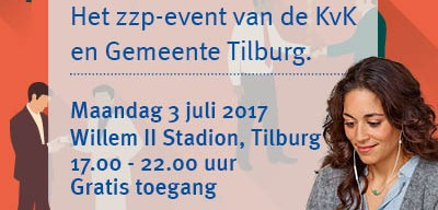 ZZP event 3 juli Tilburg